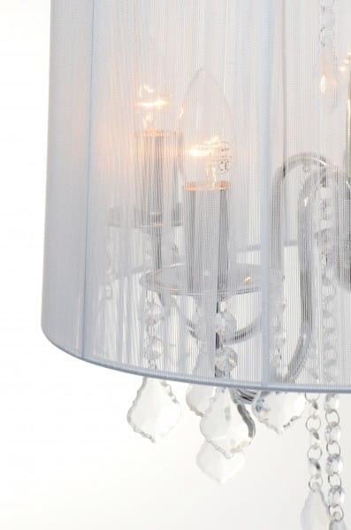 Mona lampa wisząca 5 punktowa LP 50055P srebrna