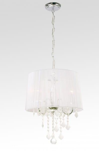 Mona lampa wisząca 3 punktowa LP 50053P srebrna